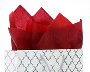 "Red Premium Tissue Paper - 100 Sheets - 20"" x 30"""