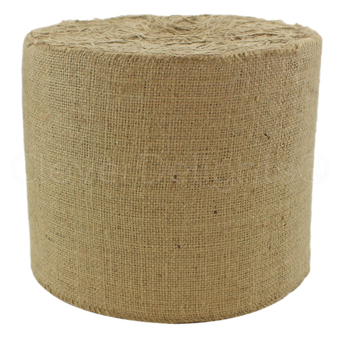 "9"" Natural Burlap Roll - Industrial Grade"