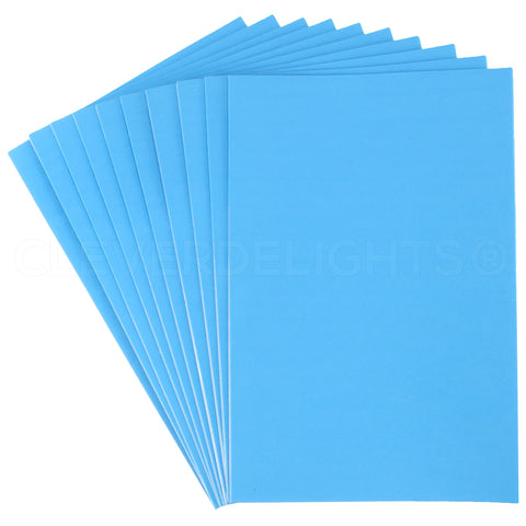 "Craft Foam Sheets - Blue - 8"" x 12"""