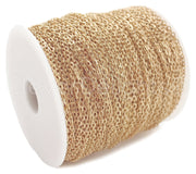 Bulk Cable Chain - 2x3mm Link - Champagne Gold Color