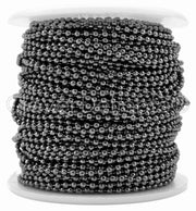 Bulk Ball Chain - 2.0mm Ball - Gunmetal Color
