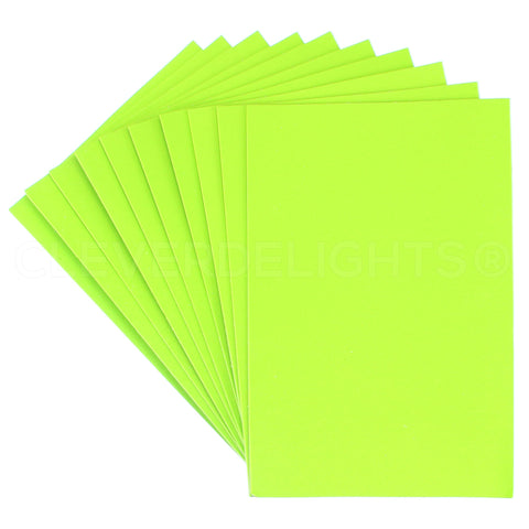 "Craft Foam Sheets - Lime - 8"" x 12"""