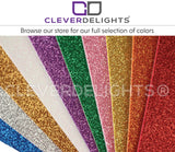 "Glitter Foam Sheets - White - 8"" x 12"""