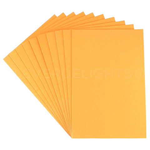 "Craft Foam Sheets - Orange - 8"" x 12"""
