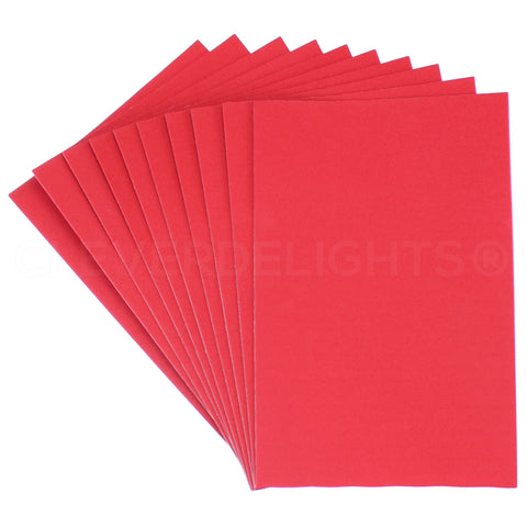 "Craft Foam Sheets - Red - 8"" x 12"""