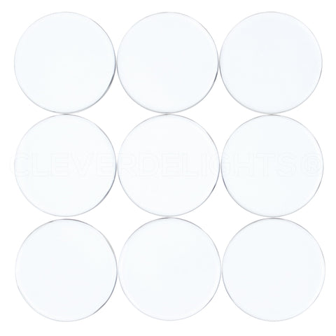 "25mm (1"") Round Glass Tiles"