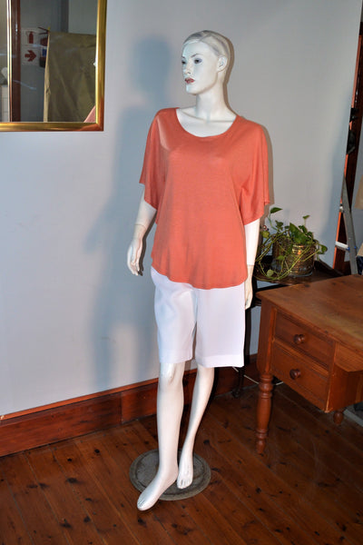 413 - Plain BatWing Top
