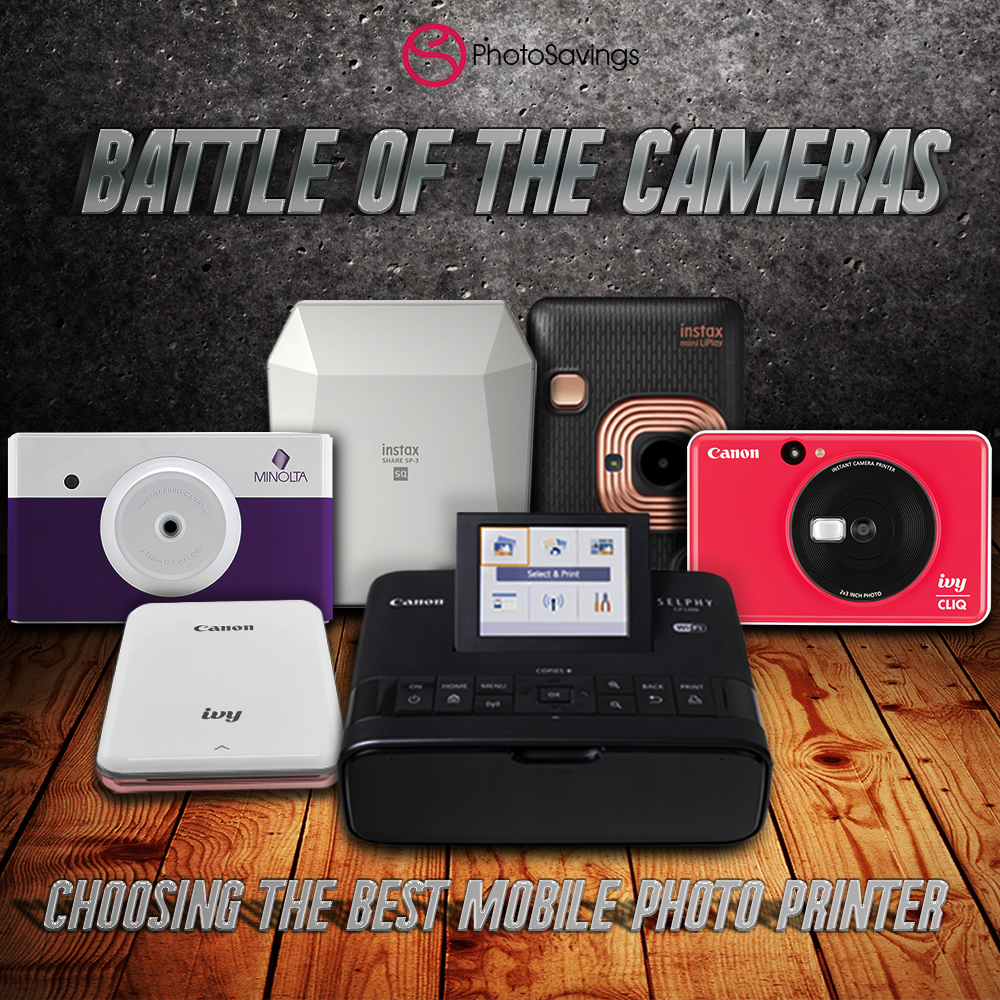 Battle of the Cameras: A Guide to the Best Mobile Photo Printers