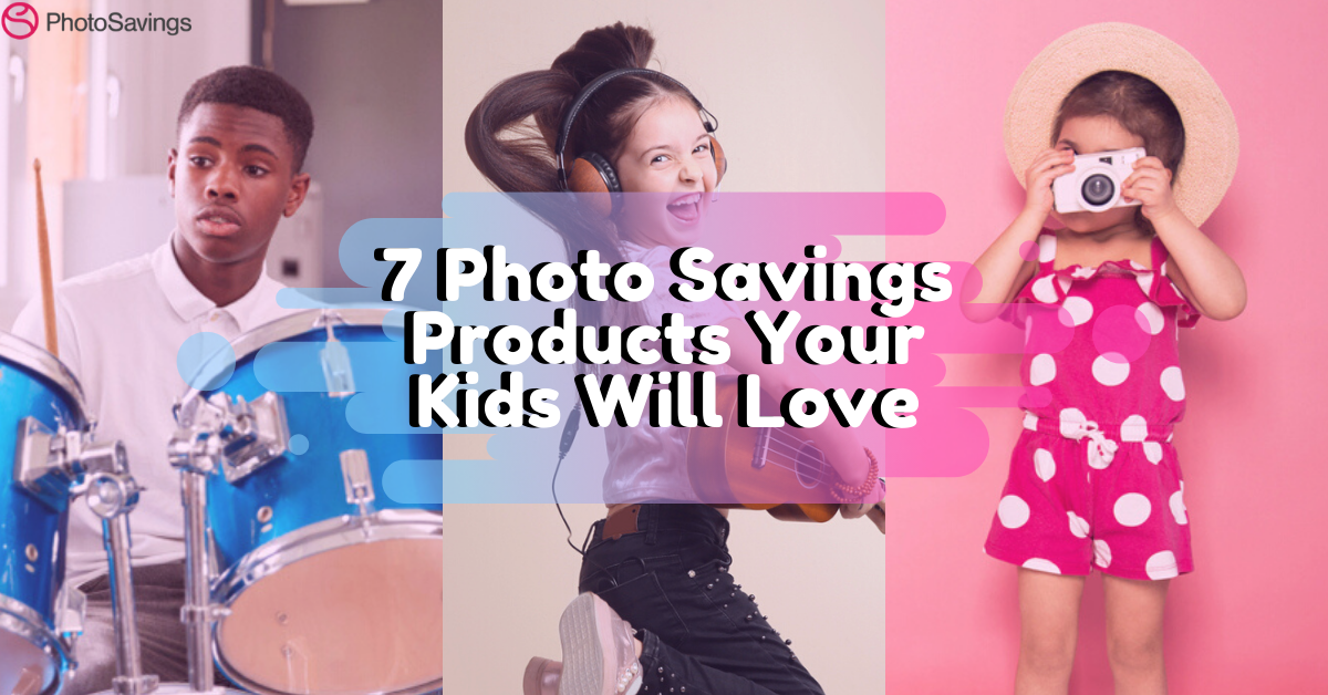7 Affordable Photo Savings Products Your Kids Will LOVE