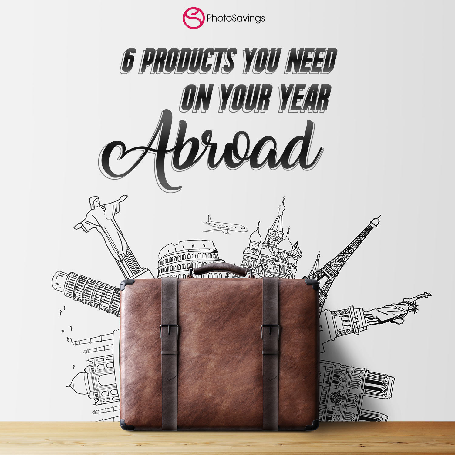 6 Photo Savings Products You Need to Prepare for Your Year Abroad