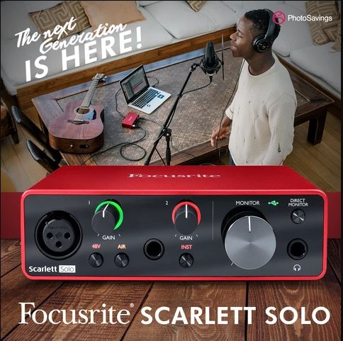 The Next Generation Focusrite Scarlett Interfaces is Here