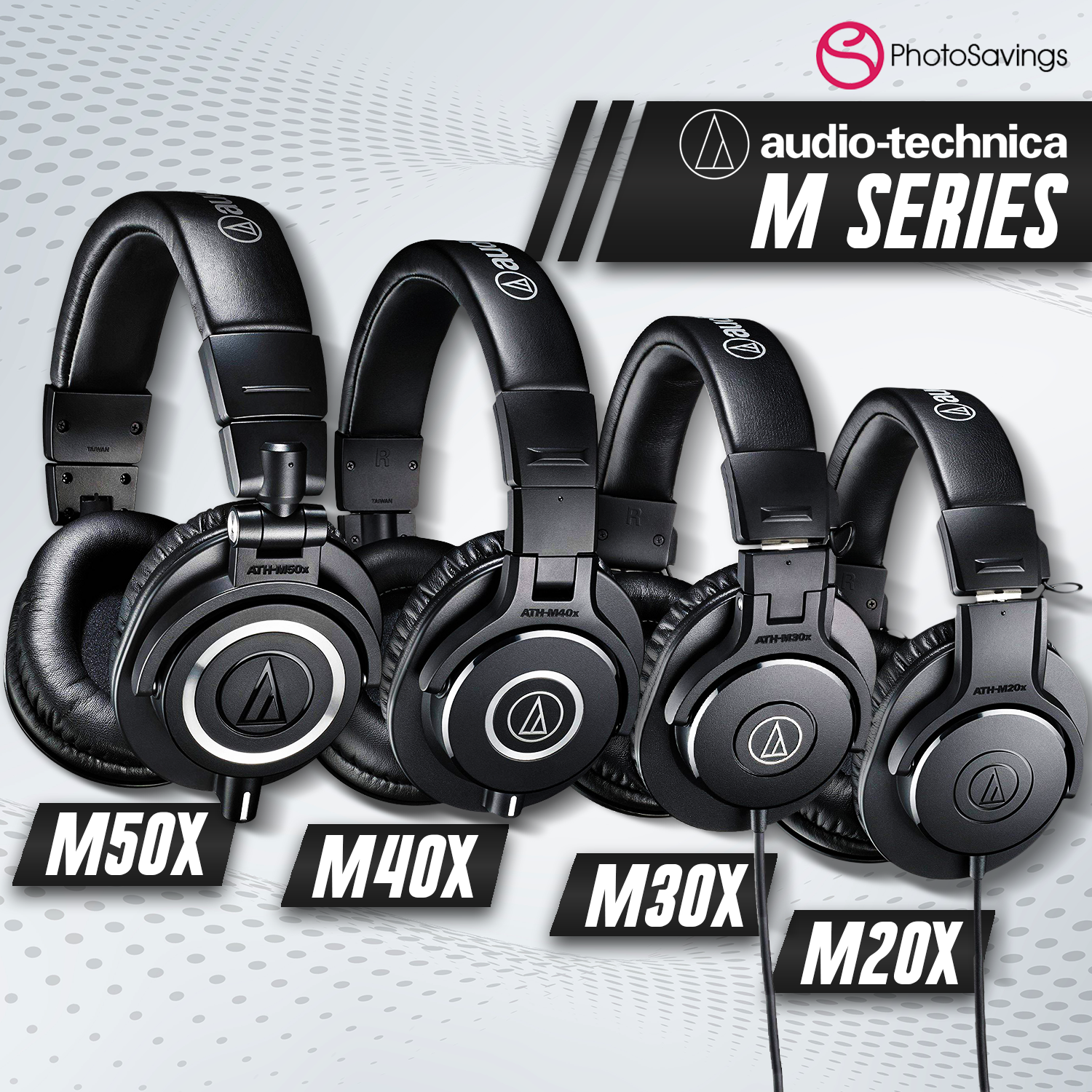 Which Audio Technica M Series Headphones Is Right for You?