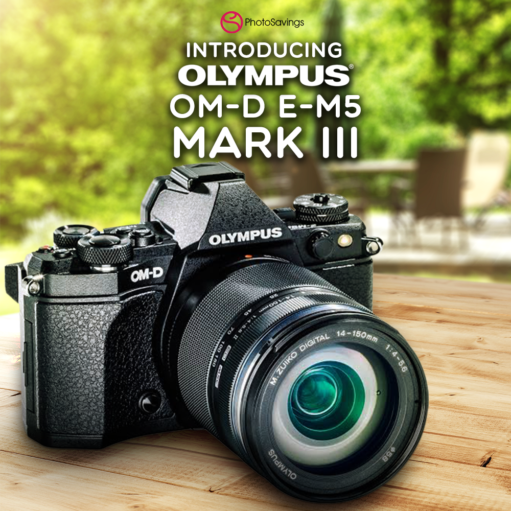 Olympus Keeps It Compact with the New OM-D E-M5 Mark III Camera