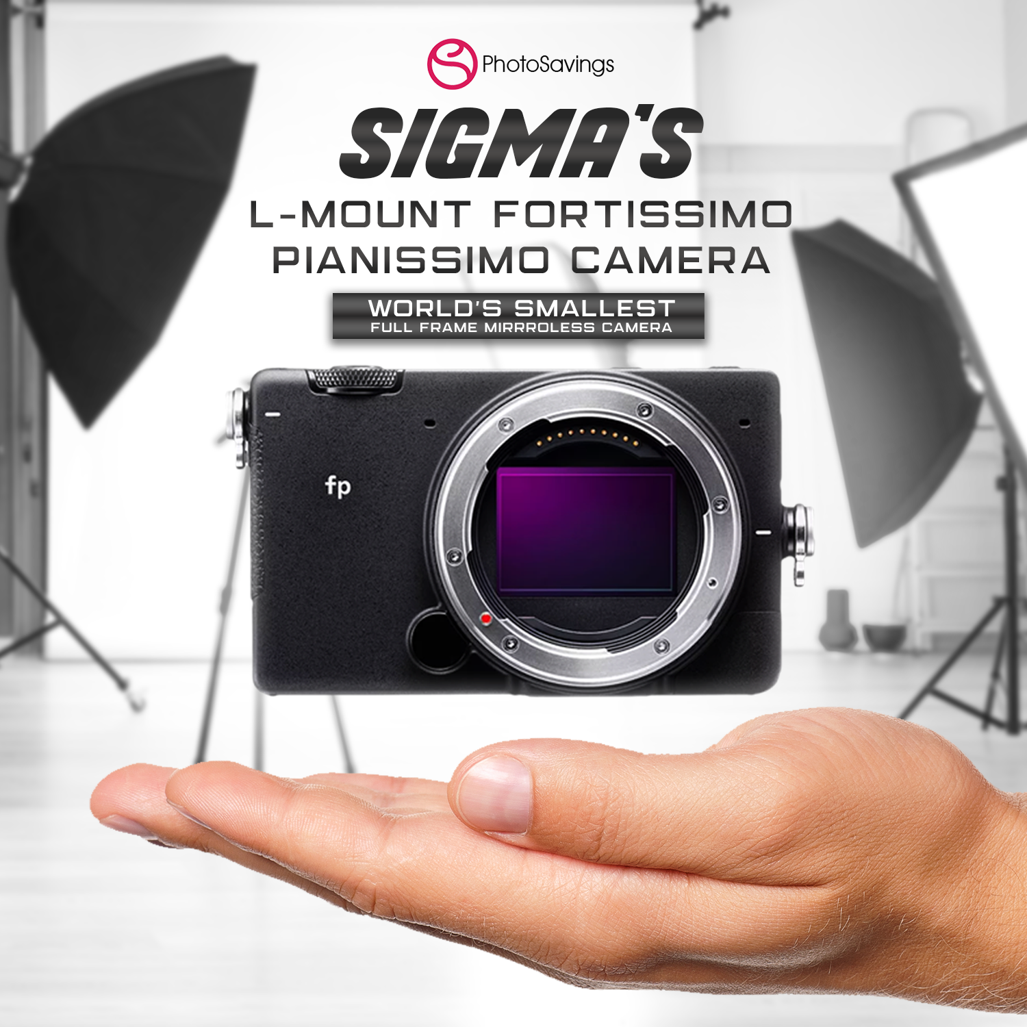 Sigma Presents the World's Smallest Full-Frame Camera With the L-Mount 'Fortissimo Pianissimo'