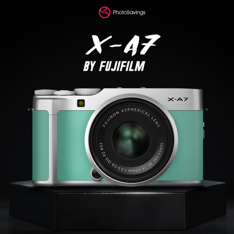 fujifilm x-a7 mirrorless camera