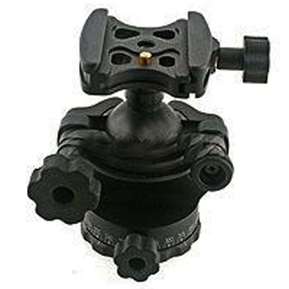 Acratech GV2 Ballhead with Gimbal Feature, with all Rubber Knobs, Quick Release / Detent Pin, Supports 25 lbs.