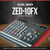 Allen & Heath ZED-10FX Multi-Purpose Miniature Mixer and Deluxe Bundle w/ Dynamic Headphones + 11X Cables + Fibertique Cloth
