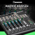 Mackie 802VLZ4, 8-channel Ultra Compact Mixer with Onyx Preamps and Basic Accessory Bundle w/ Headphones + 5X Cables + Fibertique Cloth