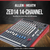 Allen & Heath ZED14 14-Channel Recording Live Sound Mixer with USB Interface and