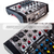 Allen & Heath ZED-6FX Compact 6-Input Analog Mixer with On-Board Effects Engine and Deluxe Bundle w/ Dynamic Mic + Stand + More