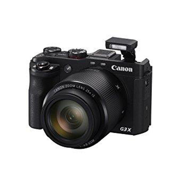Canon PowerShot G3 X Digital Camera(Black) w/ 1-Inch Sensor & 25x Optical Zoom - Wi-Fi & NFC Enabled - Thephotosavings