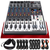 Behringer XENYX X1204USB 12-Input USB Audio Mixer with Effects and Dynamic Microphone, Closed-Back Headphones, & Deluxe Bundle