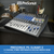 PreSonus StudioLive AR12 USB 14-Channel Hybrid Performance and Recording Mixer & Deluxe Accessory Bundle w/ Samson Q6 Mic + Mic Boom Stand + Xpix Pro Cables + More