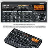 Tascam DP-008EX 8-Track Digital Pocketstudio & Deluxe Bundle w/Home Recording for Musician's Guide - Thephotosavings