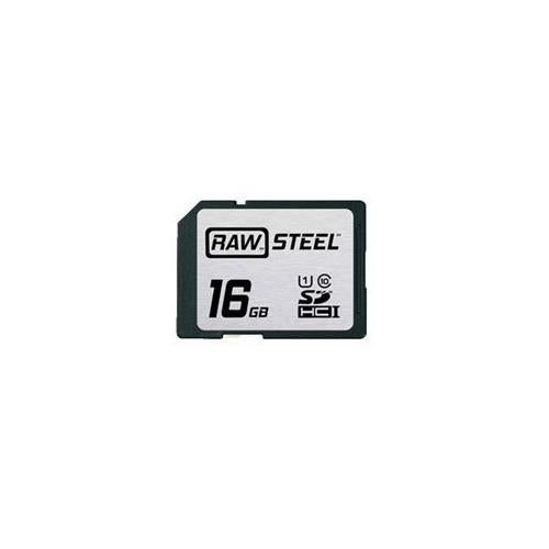 Hoodman RAW Steel SDHC 16GB UHS-1 Secure Digital Card