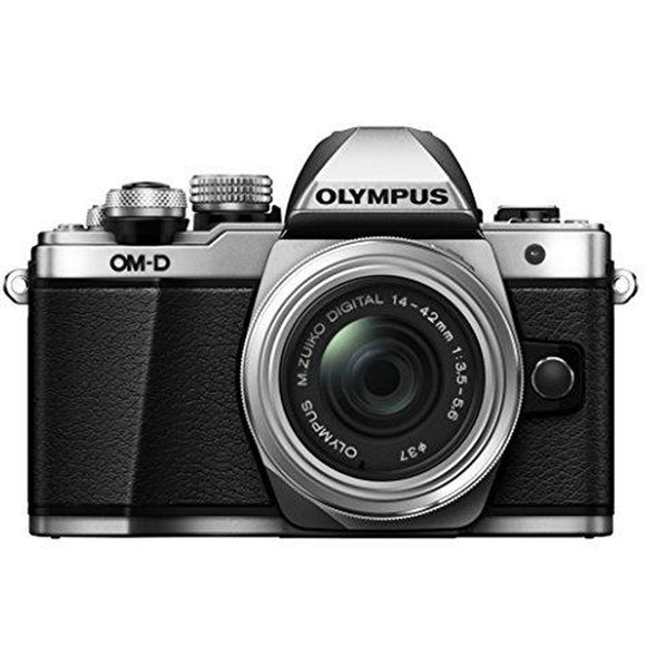 Olympus OM-D E-M10 Mark II Mirrorless Digital Camera with 14-42mm II R Lens (Silver) - Thephotosavings
