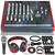 Allen & Heath ZED60-10FX 6-Channel Mixer with Digital Effects and USB I/O + Deluxe Bundle w/ Microphone, Headphones, 12X Cables, Fibertique Cloth