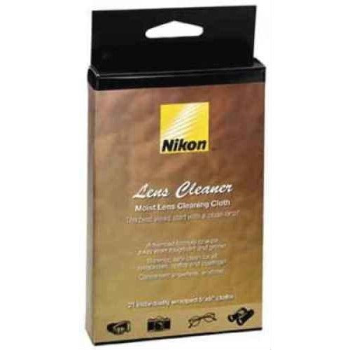 Nikon Moist Lens Cleaner Cloths, Pack of 21. - Thephotosavings