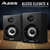 Alesis Elevate 4 40W 4 Two-Way Active Desktop Studio Speakers and Deluxe Bundle w/ Monitoring Headphones, Cables, and Fibertique Cloth