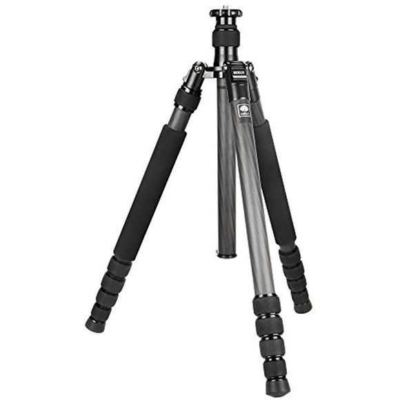Sirui N-1204X 4-Section Carbon Fiber Tripod with Integrated Monopod, Holds 27 Lbs, Extends to 52 - Thephotosavings