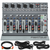Behringer XENYX 1002B 10-Channel Audio Mixer and Accessory Bundle with 5X Cables + Fibertique Cleaning Cloth