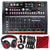 Arturia DrumBrute Impact Analog Drum Machine with Headphones and Deluxe Accessory Bundle