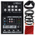 Mackie Mix Series Mix5 5-Channel Compact Mixer and Deluxe Bundle w/ Closed-Back Headphones + Cables + Fibertique Cloth