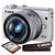 Canon EOS M100 Mirrorless Camera w/ 15-45mm Lens & WiFi (White) + 32GB