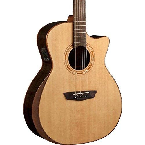 Washburn Comfort Series USM-WCG20SCE Acoustic-Electric Guitar Natural - Thephotosavings