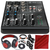 Mackie 402VLZ4 - 4-channel Ultra Compact Mixer with Preamps and Deluxe Bundle w/ Professional Headphones + 6x Cables + More
