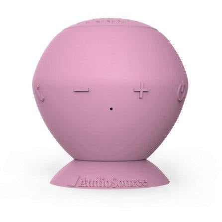 AudioSource Sound pOp Bluetooth Speaker (Bubble Gum)