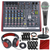 Allen & Heath ZED-10FX Multi-Purpose Miniature Mixer and Premium Bundle w/ Dynamic Headphones+ Supercardioid Microphone + Much More