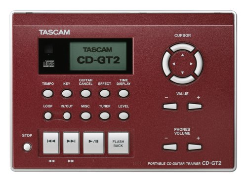 Tascam CDGT2 Portable CD Guitar Trainer - Thephotosavings