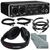 Behringer U-PHORIA UMC204HD USB 2.0 Audio/MIDI Interface and Platinum Bundle w/ Headphones + Cables + Fibertique Cloth
