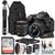 Nikon D5600 DSLR with 18-55mm f/3.5-5.6G ED VR Lens Kit and 64GB Pro Photo and Travel Bundle