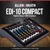 Allen & Heath ZEDi10 Compact 10-Channel Hybrid Mixer & USB Interface + Platinum Bundle w/ Monitoring Headphones, Home Recording for Musicians for Dummies, 10X Cables, Fibertique