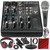 Mackie 402VLZ4 - 4-channel Ultra Compact Mixer with Preamps and Platinum Bundle w/ Professional Microphone + Headphones + 8x Cables + More