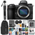Nikon Z 7 Mirrorless Digital Camera (Black) W/Tripod and LED Light + Photo Enhancement Software and Professional Accessories