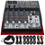 Behringer XENYX 802 8-Channel Compact Premium Audio Mixer with Closed-Back Headphones and Deluxe Bundle