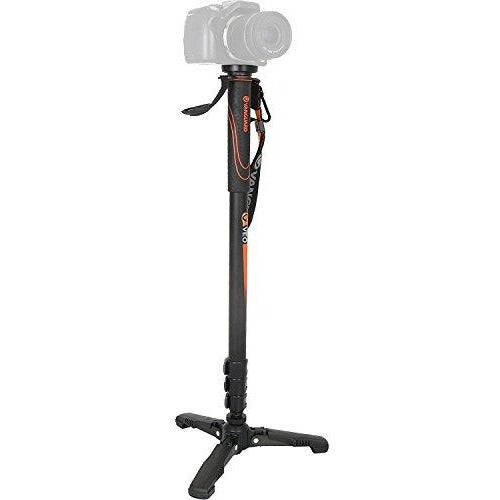 Vanguard VEO AM-264TV Aluminum monopod with video panhead, 4 section, 26 mm - Thephotosavings
